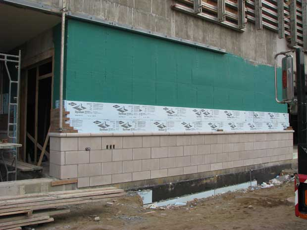 Air Barrier systems are very effective in commercial applications
