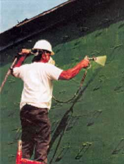Code Green is a 100% rubber copolymer liquid applied air/vapour barrier membrane
