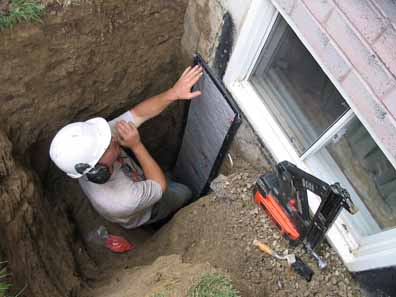 Exterior Dig-Up, Repair & Seal