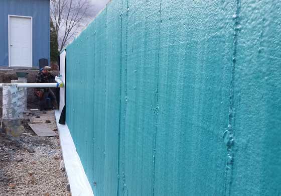 Rub-R-Wall is liquid-applied