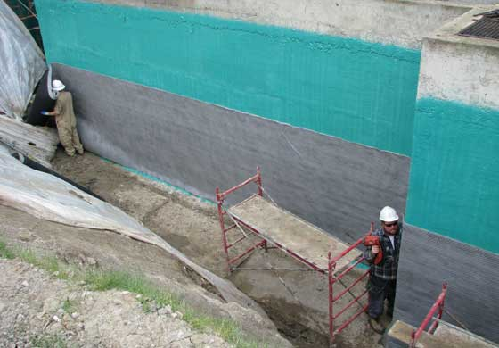 Rub-R-Wall provides incredible inherent strength